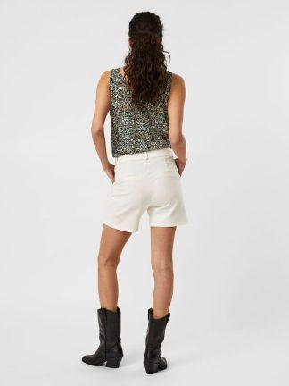 Calção Branco Look Fashion